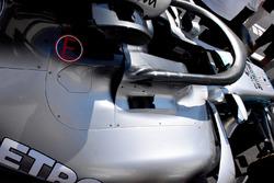 Mercedes-AMG F1 W09 cabina