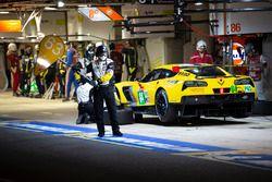 #64 Corvette Racing Chevrolet Corvette C7.R: Oliver Gavin, Tommy Milner, Marcel Fassler, #63 Corvette Racing Chevrolet Corvette C7.R: Jan Magnussen, Antonio Garcia, Mike Rockenfeller