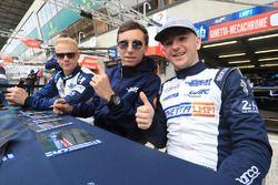 Гонщики CEFC TRSM Racing Чарли Робертсон, Майкл Симпсон и Лео Руссель