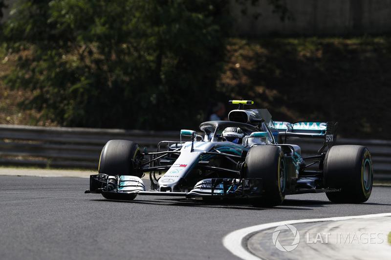 6. Valtteri Bottas, Mercedes AMG F1 W09