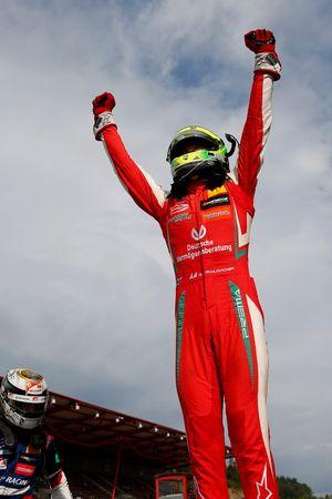Le vainqueur Mick Schumacher, PREMA Theodore Racing Dallara F317 - Mercedes-Benz