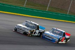 Stewart Friesen, Halmar Friesen Racing, Chevrolet Silverado We Build America Parker Kligerman, Henderson Motorsports, Chevrolet Silverado Food Country USA