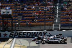 Will Power, Team Penske Chevrolet, Marco Andretti, Herta - Andretti Autosport Honda