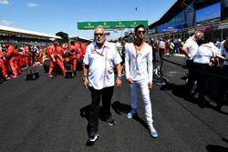 Dr. Vijay Mallya, propriétaire de Force India F1, sur la grille
