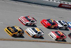Daniel Hemric, Richard Childress Racing, Chevrolet Camaro South Point Hotel & Casino Spencer Gallagher, GMS Racing, Chevrolet Camaro Allegiant
