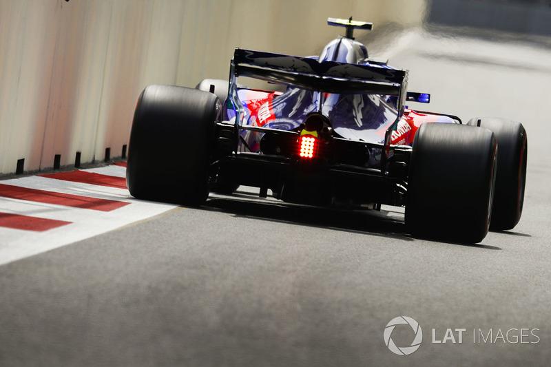 18. Brendon Hartley, Toro Rosso STR13 Honda