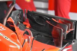 Detalle del alerón delantero de Sebastian Vettel, Ferrari SF71H