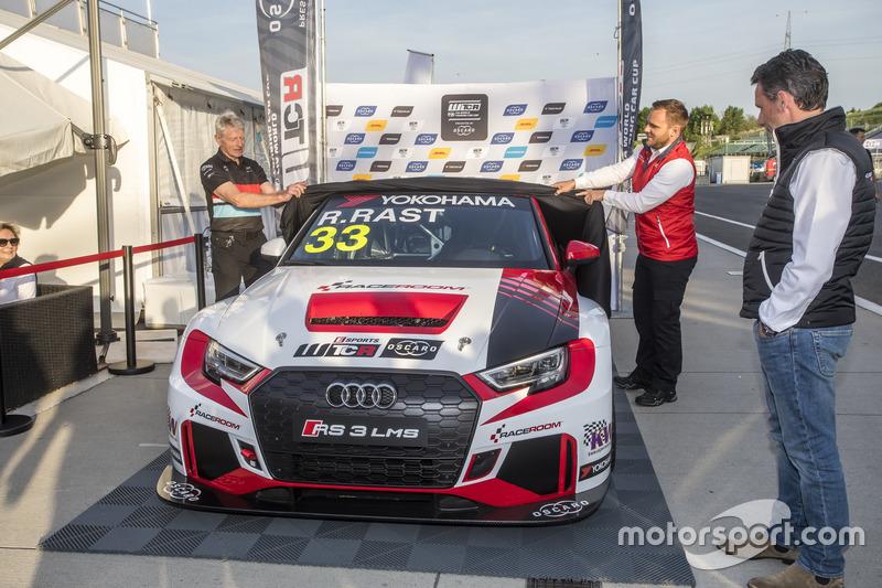 Unveil of the car Rene Rast, Audi R3 LMS