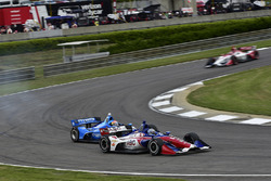 Ed Jones, Chip Ganassi Racing Honda, Tony Kanaan, A.J. Foyt Enterprises Chevrolet