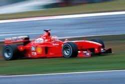 Eddie Irvine, Ferrari F399 in trouble