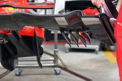 Ferrari SF70H detalle de ala delantera