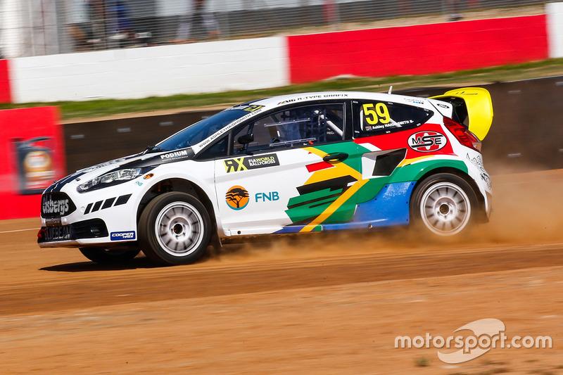 Ashley Haigh-Smith, Olsbergs MSE Ford Fiesta ST