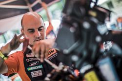 Red Bull KTM Factory Racing at the bivouac