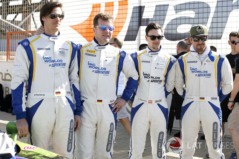 #16 SPS automotive performance Mercedes-AMG GT3: Valentin Pierburg, Tim Müller, Lance-David Arnold,