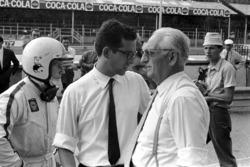Chris Amon, Mauro Forghieri und Enzo Ferrari