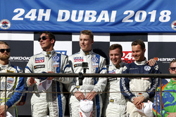 Podium TCR: Race winners #130 Liqui Moly Team Engstler Volkswagen Golf GTi TCR: Luca Engstler, Florian Thoma, Benjamin Leuchter, Jean Karl Vernay