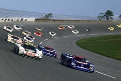 Davy Jones, Raul Boesel, Jan Lammers, Jaguar XJR-9, Geoff Brabham, Chip Robinson, Arie Luyendyk, Michael Roe, Nissan GTP ZX-Turbo