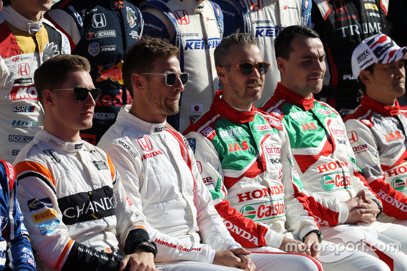 Honda Racing Ceremonia