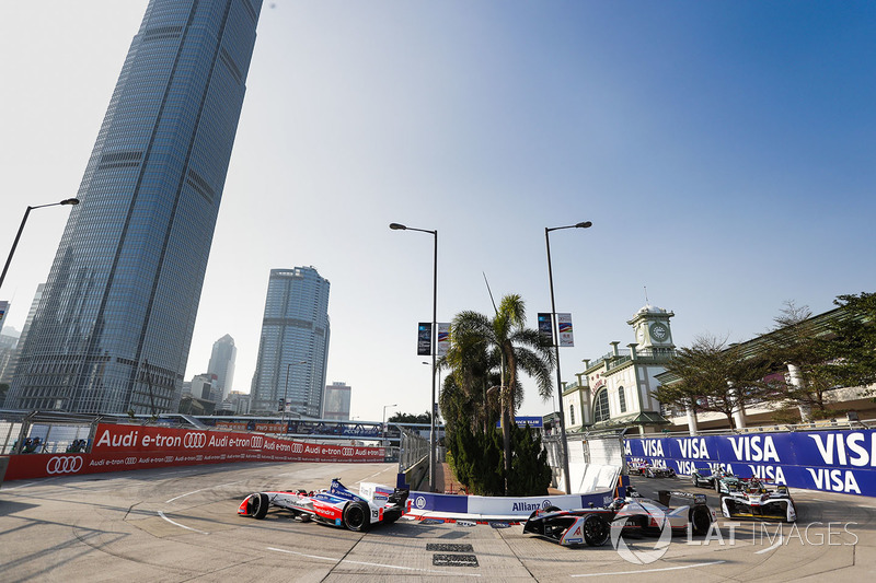 Felix Rosenqvist, Mahindra Racing, Edoardo Mortara, Venturi Formula E