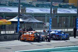 #60 MP1B Porsche GT3 Cup: Bryan Ortiz & Sebastian Carazo of TLM USA, #10 MP1B Porsche GT3 Cup: Carte