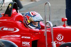 Dani Pedrosa tests a F3 car