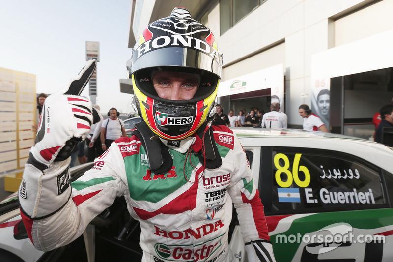 Pole position pour Esteban Guerrieri, Honda Racing Team JAS, Honda Civic WTCC