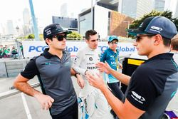 Nelson Piquet Jr., Jaguar Racing, Sébastien Buemi, Renault e.Dams, Kamui Kobayashi, Andretti Formula