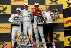 Podium: Racewinnaar Paul Di Resta, Mercedes-AMG Team HWA, tweede plaats Lucas Auer, Mercedes-AMG Team HWA, derde plaats Nico Müller, Audi Sport Team Abt Sportsline