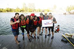 Toro Rosso Raft Race team