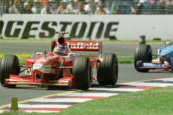 Jacques Villeneuve, Williams voor Giancarlo Fisichella, Benetton
