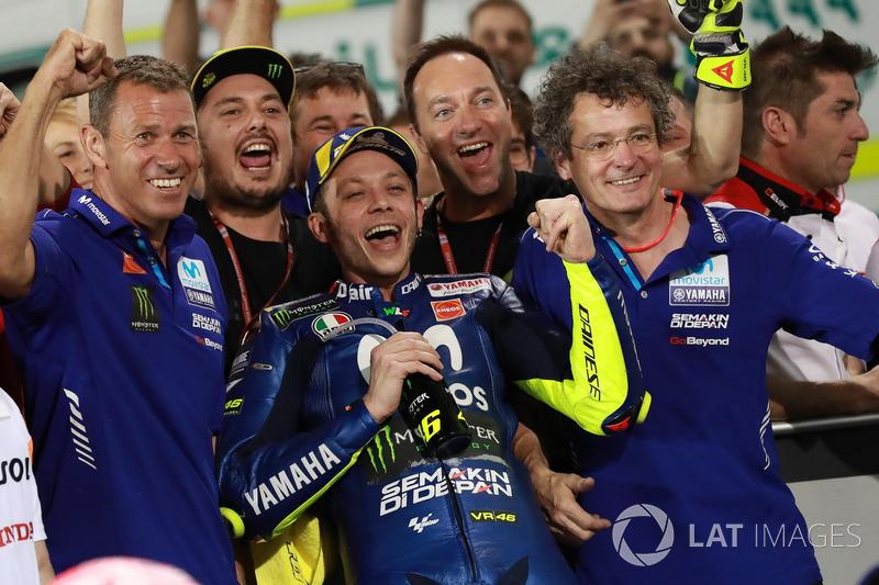 """""""Estou muito feliz. Mas espero mais em relação ao ano passado, porque com a moto deste ano eu me sinto bem""""."""