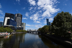 A view of Melbourne