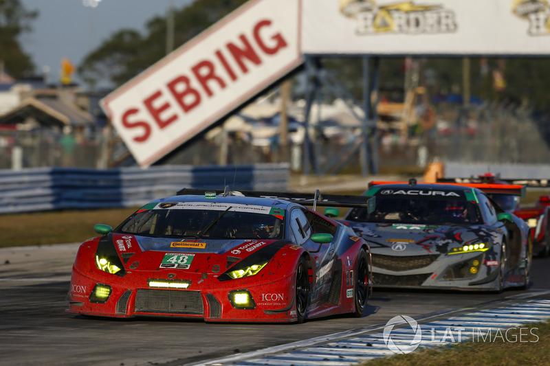 Мэдисон Сноу, Брайан Селлерс, Кори Льюис, Paul Miller Racing, Lamborghini Huracan GT3 (№48)