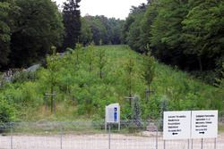 Gedenkstein für Jim Clark in Hockenheim