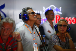 Dr. Mario Theissen visits the Toro Rosso garage