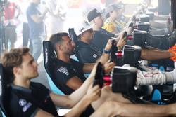 Mitch Evans, Jaguar Racing, at the eRace