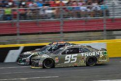 Ty Dillon, Germain Racing, Chevrolet Camaro GEICO Military, Kasey Kahne, Leavine Family Racing, Chevrolet Camaro Thorne