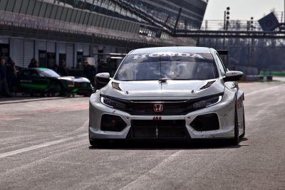 Honda March testing