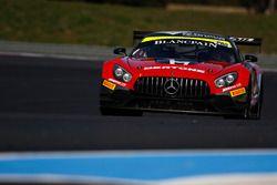 #87 Akka ASP, Mercedes-AMG GT3: Eric Debard, Nicolas Jamin, Mauro Ricci, Jean-Luc Beaubelique, Phili