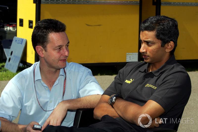 Narain Karthikeyan, Jordan habla con Piers Hunnisett