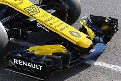 Renault Sport F1 Team RS18, dettaglio dell'ala anteriore