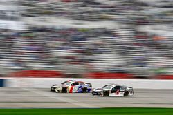 Kyle Busch, Joe Gibbs Racing, Snickers Almond Toyota Camry and Kevin Harvick, Stewart-Haas Racing, Jimmy John's Ford Fusion