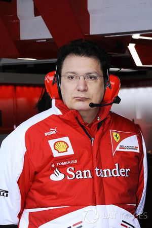 Nicholas Tombazis, Chief Designer Ferrari