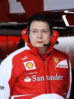 Nicholas Tombazis, jefe de diseño de Ferrari