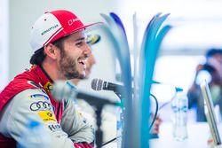 Daniel Abt, Audi Sport ABT Schaeffler, in the press conference