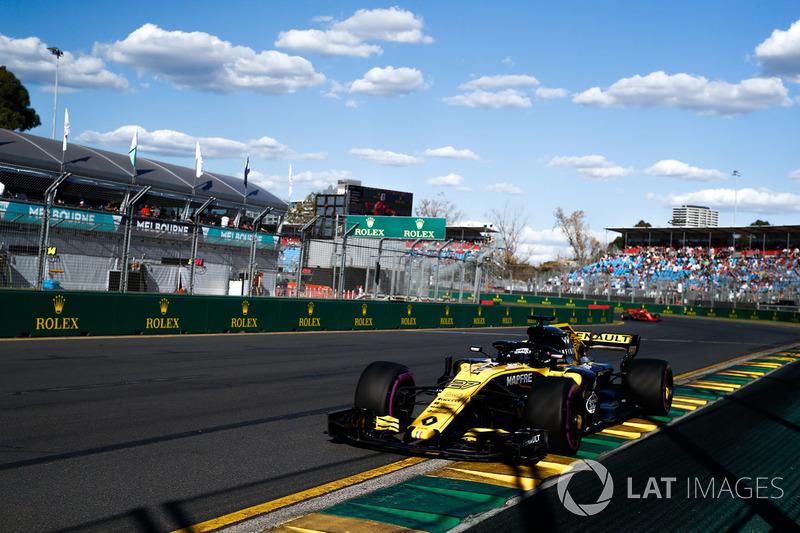 7. Nico Hülkenberg, Renault Sport F1 Team R.S. 18