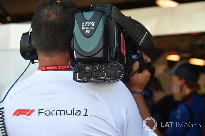 Camarógrafo de Fórmula 1