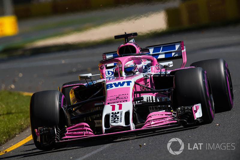 11. Sergio Perez, Force India VJM11