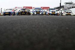 Los coches del BTCC 2018