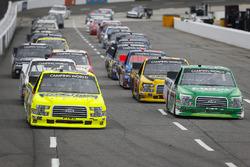 Matt Crafton, ThorSport Racing, Ford F-150 Ideal Door/Menards and Ben Rhodes, ThorSport Racing, Ford F-150